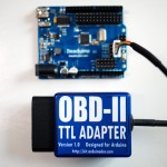 Arduino connected with OBD-II adapter