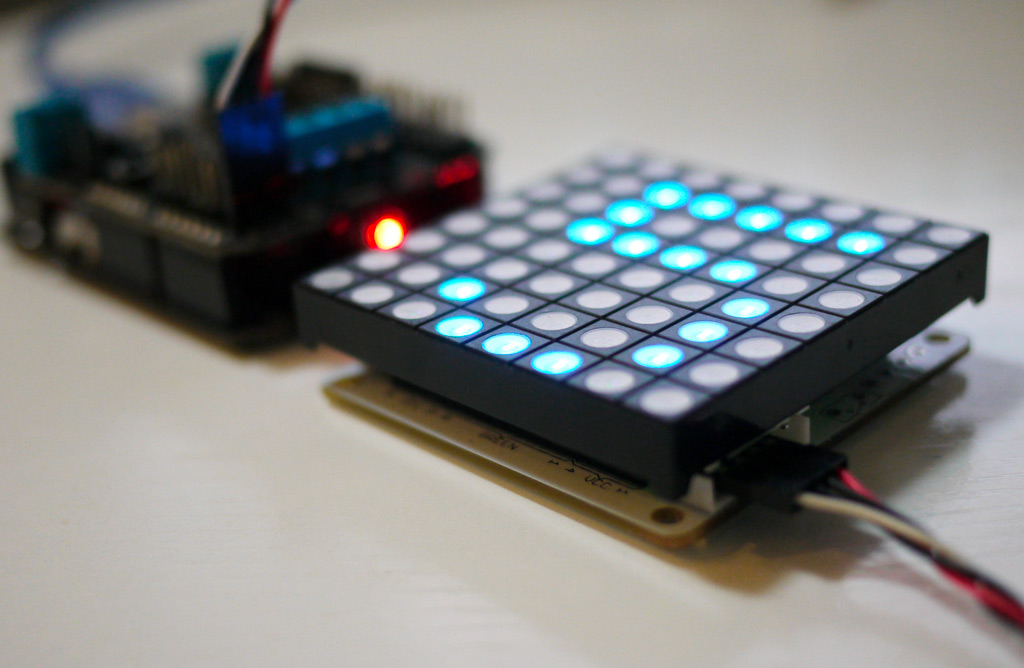Download arduino library for led matrix